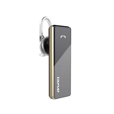 "Bluetooth headset, mono, HD hang, AWEI ""A850BL"", fekete"