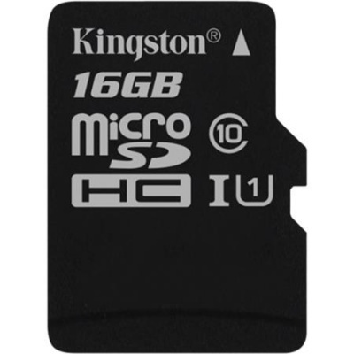 "Memóriakártya, microSDHC, 16GB, CL10/U1, 80/10MB/s, KINGSTON ""Canvas Select"""